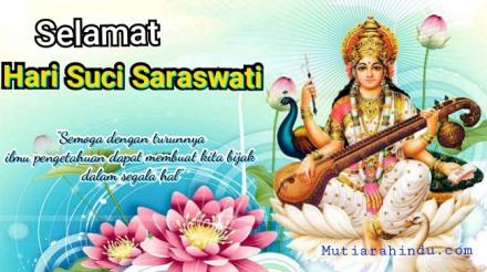 Pemerintah Desa Pengulon Mengucapkan Selamat Hari Rahina Saraswati