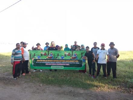 BULAN BAKTI GOTONG ROYONG MASYARAKAT TAHUN 2019