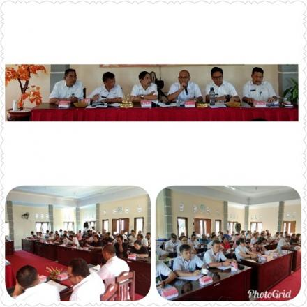 Rapat Musyawarah Desa ( Musdes ) Dalam Rangka Penyusunan RKP Desa Se-Kecamatan Gerokgak Tahun 2020
