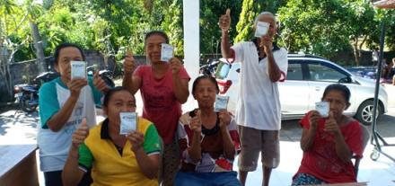 Posyandu di Banjar Dinas Munduk Sari Desa Pengulon, Kecamatan Gerokgak
