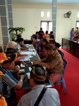 Pendistribusian KKS BPNT ( Bantuan Pangan Non Tunai )
