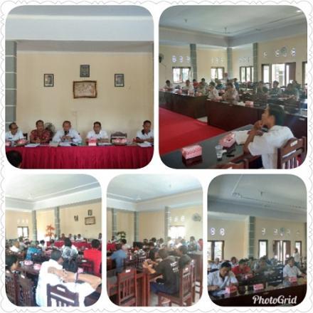 Pertanggung Jawaban Bumdes Jagaditha Desa Pengulon Tahun 2018