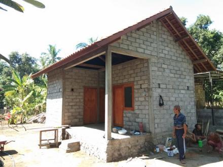 Pembangunan Bedah Rumah di Munduk Sari Sudah Finising