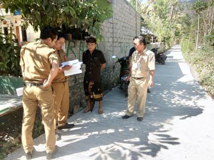 Monev Insfektorat Kab. Buleleng ke Desa Pengulon, Gerokgak, Buleleng