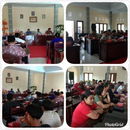 Rapat Pembentukan KPPS di Desa Pengulon