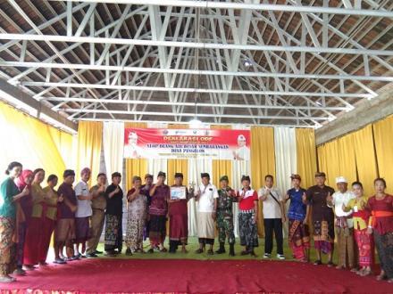 Deklarasi ODF di Desa Pengulon