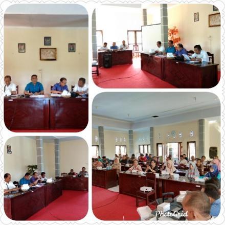Rapat Musdes Perencanaan Desa dan Pembentukan TIM Penyusunan RPJM Desa Tahun 2020-2025