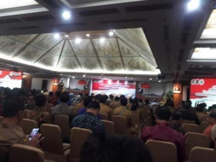 Rapat Kerja Percepatan Penyaluran dan Pengelolaan Dana Desa Tahun 2020