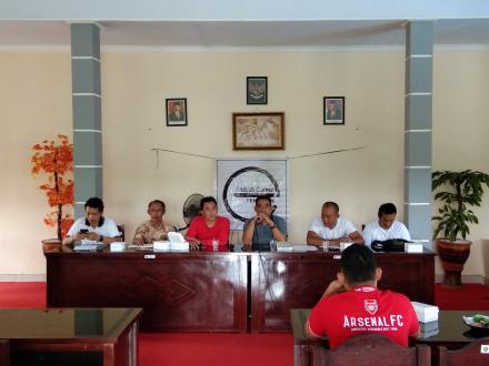 Pembentukan Pengurus Karang Taruna Desa Pengulon dan Peremajaaan Susuna Keanggotaan Pokdarwis