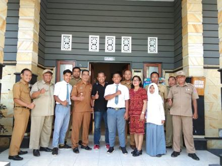 Pelepasan Siswa Magang dari SMK Istiqlal Desa Patas