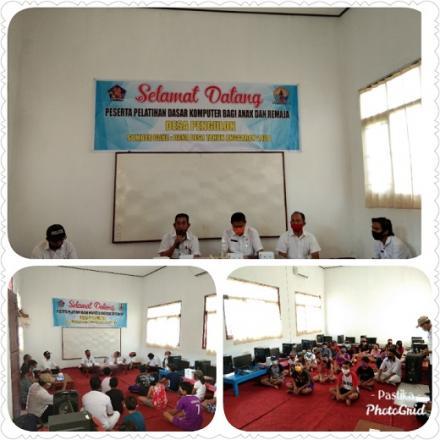 Pelatihan Dasar Komputer Bagi Anak dan Remaja di Desa Pengulon