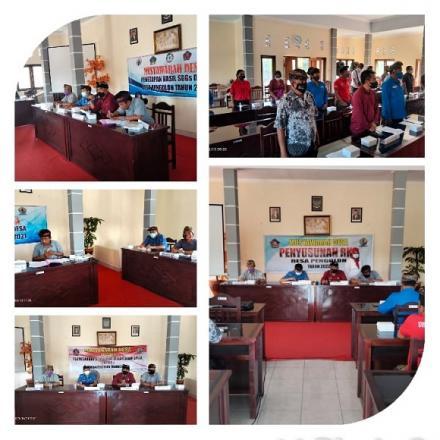 BPD Pengulon menyelenggaran 4 Agenda Musyawarah Desa