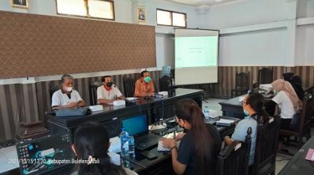 Rapat Pelatihan Aplikasi Sisupel (Sistem Informasi Surat Pengesahan Lembaga)