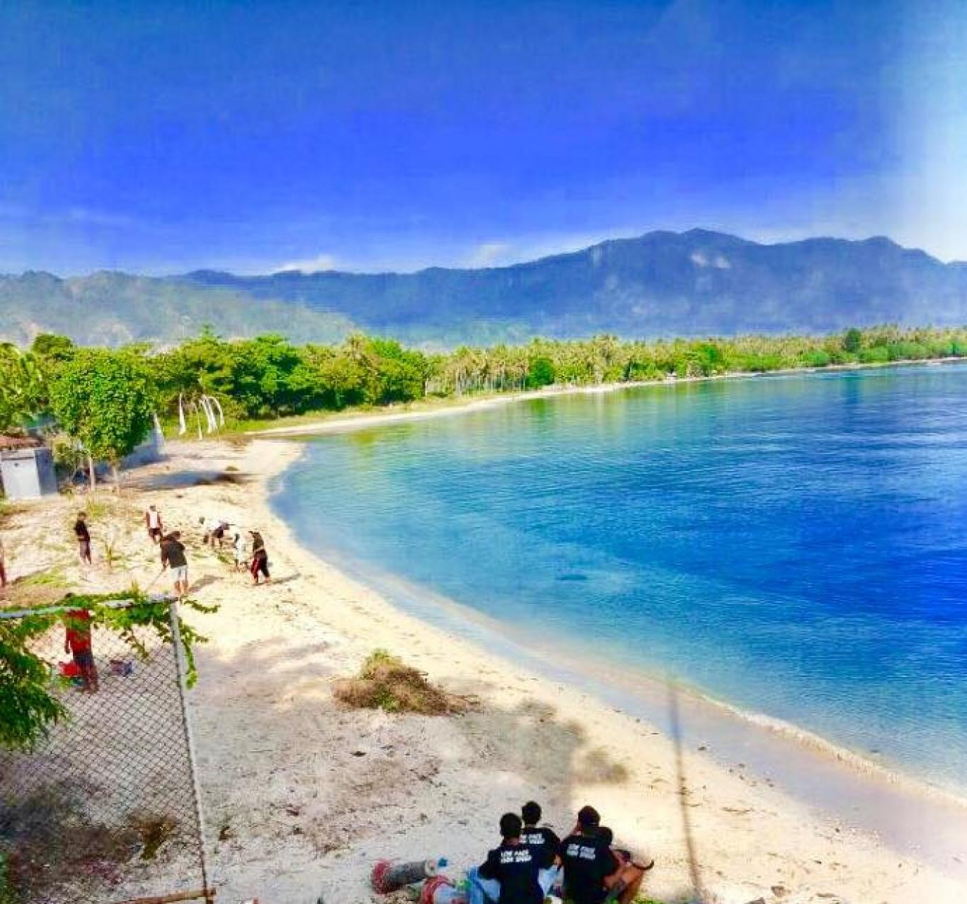 Objek Wisata Pantai Karang Rata Desa Pengulon Website Desa